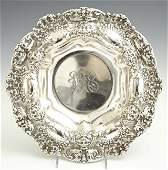 Gorham Sterling Center Bowl, early 20th c., #A1898, in