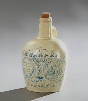 Rare And Unusual New Orleans Exposition Stoneware I. W.