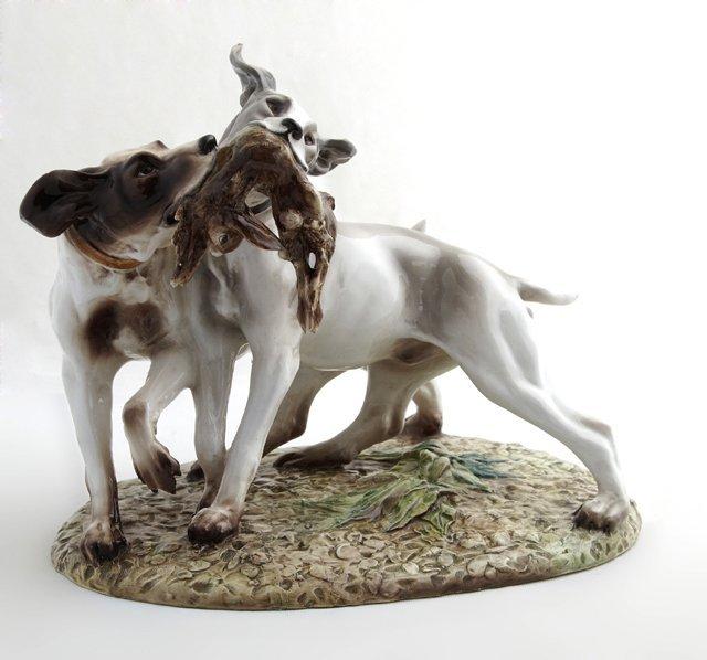 After Guido Cacciapuoti (1853-1927), Porcelain Figural