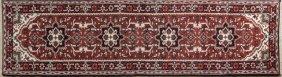 Heriz Carpet, 2' 6 X 11' 6.