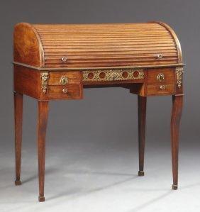 French Louis Xvi Style Ormolu Mounted Mahogany Full