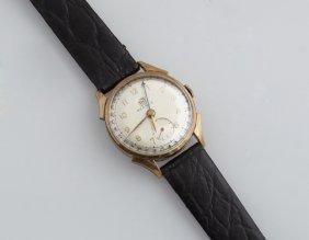 Benrus 10k Rolled Gold Plate Calendar Wristwatch, Ser #