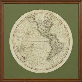 "John Cary (1754-1835), ""the Western Hemisphere,"" 1799,"