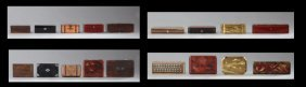 Group Of Nine Boxes, 19th And 20th C., Consisting Of