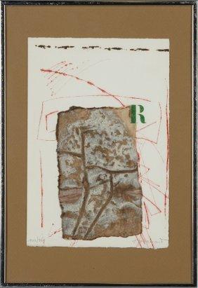 "James Coignard (1925-2008), ""abstract,"" 142/200, Print,"