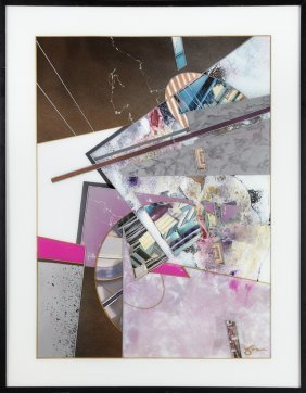"""James """"jace"""" Collins ( -2012), """"abstract,"""" Reverse Oil"""