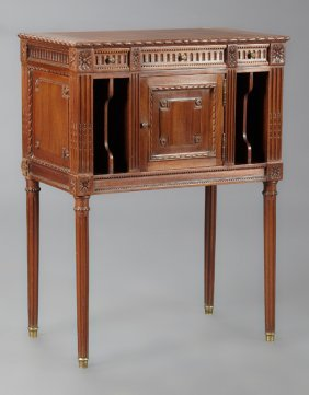 French Louis Xvi Style Nightstand, Early 20th C., The