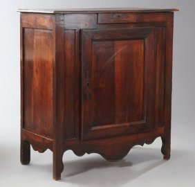 French Provincial Louis Xvi Style Carved Walnut
