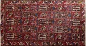 Bakhtiari Carpet, 6' 1 X 9' 4.