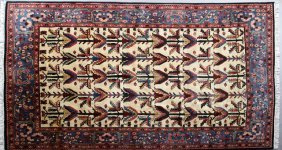 Turkish Carpet, 7' X 11'.