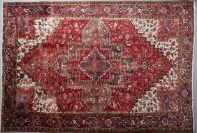Heriz Carpet, 8' X 10'.