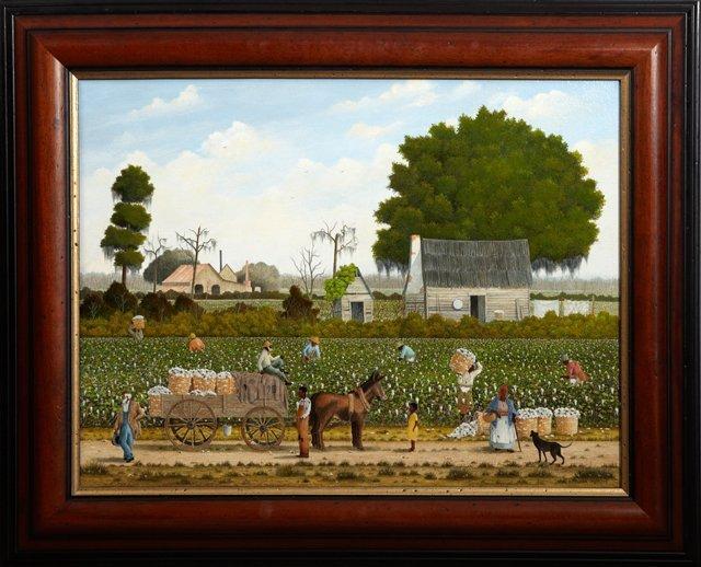 """Jack R. Meyers (1930-1994, Louisiana), """"Cotton"""