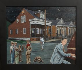 """Tommy B Yow (new Orleans), """"jelly Roll Morton On Piano-"""