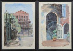 "Walter W. Dawley, ""pontalba, New Orleans,"" And"