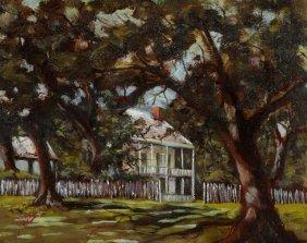 "Jerome Weber (new Iberia, Louisiana), ""house With Fence"