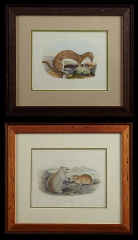 Two Chromolithographs, Early 20th C., One By J. Smit,