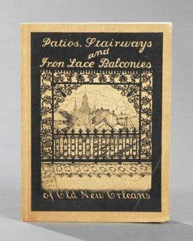 """Book- Eugene Delcroix (1892-1967), """"patios, Stairways"""