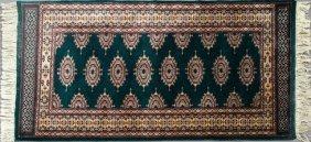 Bokhara Carpet, 4' X 6'.