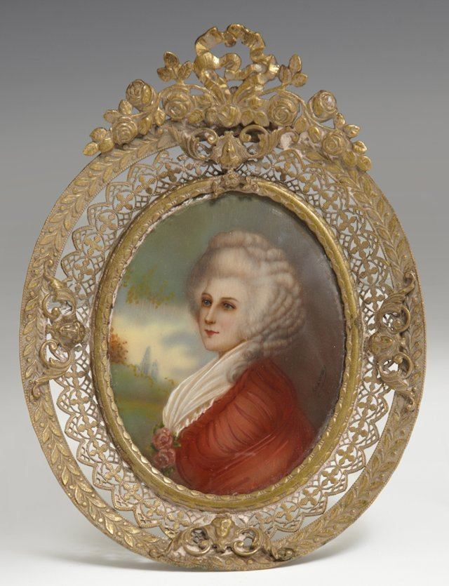 "After Richard Cosway (1742-1821), ""Lady Foster,"""