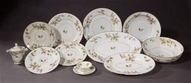 Seventy-Eight Piece Set of Haviland Limoges Porcelain,