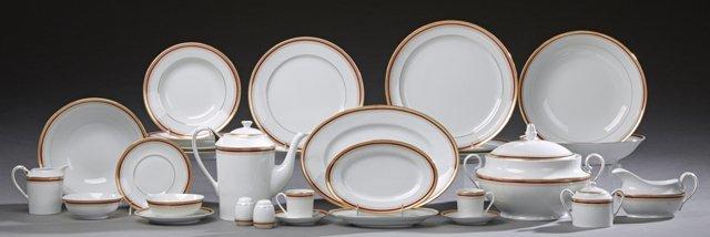 Ninety-Seven Piece Set of Chambord Limoges Porcelain