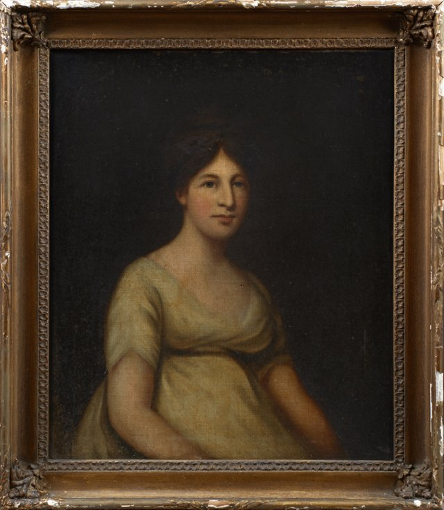 "British School, ""A Portrait of Mrs. Goldsmid,"" 19th c.,"