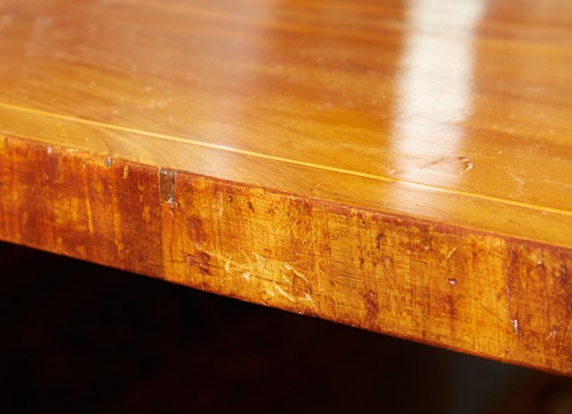 English Victorian Inlaid Mahogany Breakfast Table, 19th - 8