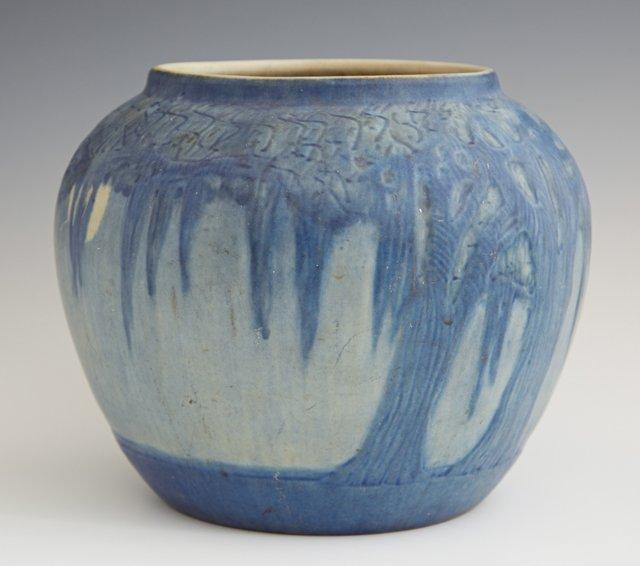 Newcomb College Art Pottery Matte Glaze Baluster Vase,