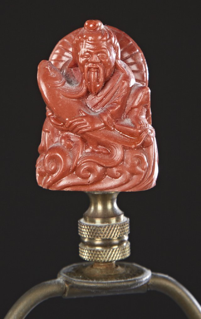 Chinese Oxblood Porcelain Baluster Vase, 20th c., now - 2