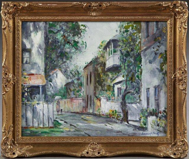 """Emmett Fritz (1917-1995), """"St. Augustine, Florida"""