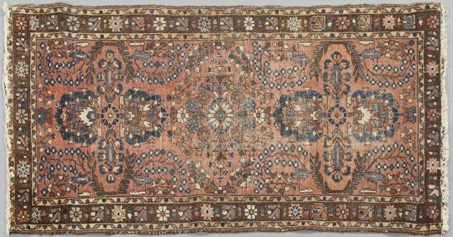 Lilahan Carpet, 2' 7 x 4' 7. Provenance: The Estate of