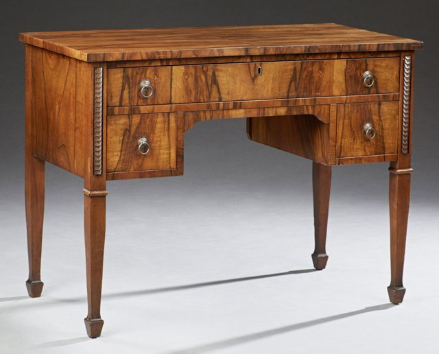 American Mahogany Lady's Desk, c. 1910, the rectangular