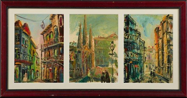 "W.E. Dwyer (New Orleans), ""Jackson Square,"" ""St. Louis"