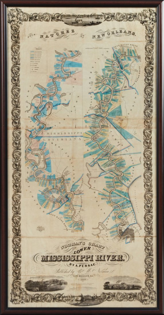 "After Marie Adrien Persac (1823-1873), ""Norman's Chart"