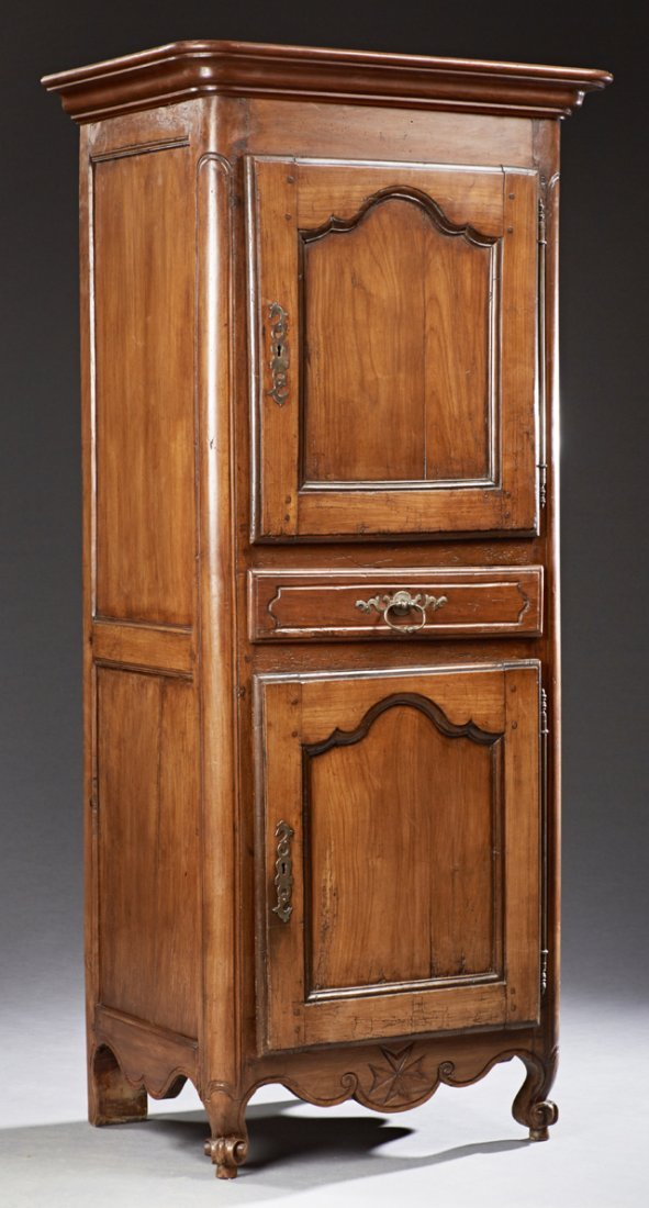 Diminutive French Louis XV Style Carved Walnut Homme