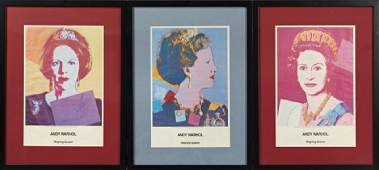 Andy Warhol 19281987 Queen Beatrix of the