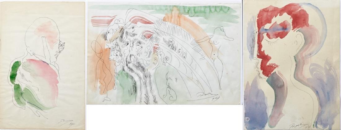 "Noel Rockmore (1928-1995, New Orleans), ""Alvin Kagan,"""