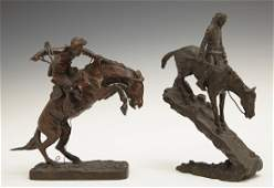 """After Frederic Remington (1861-1909), """"The Bronco"""