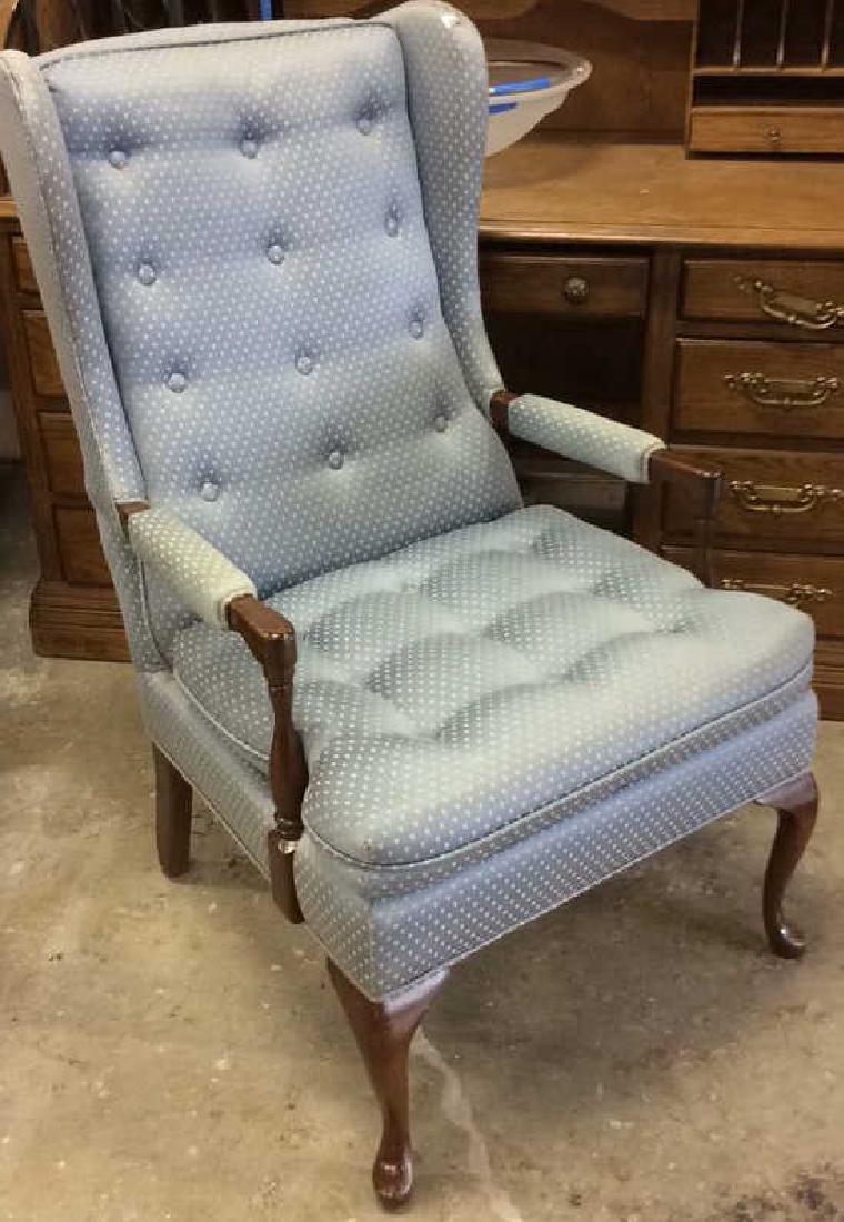 Vintage Bergere Chair , NY, USA Mahogany pad feet slim