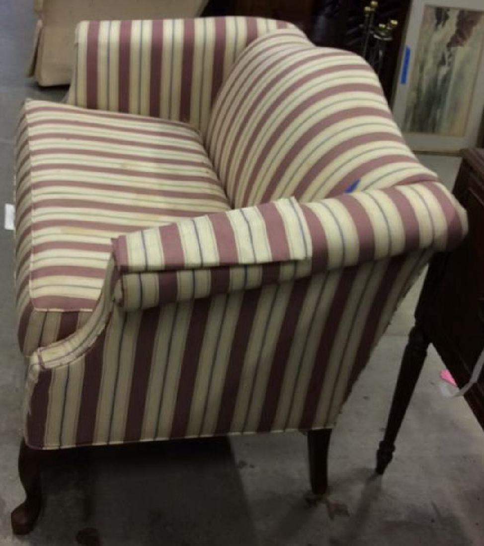 Vintage Camelback Setee, loveseat, sofa Chippendale - 3