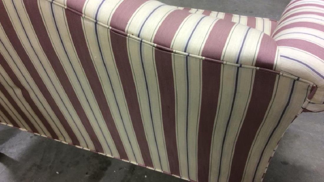 Vintage Camelback Setee, loveseat, sofa Chippendale - 6
