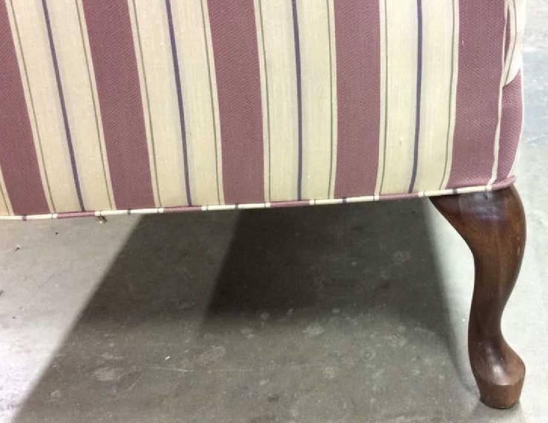 Vintage Camelback Setee, loveseat, sofa Chippendale - 7