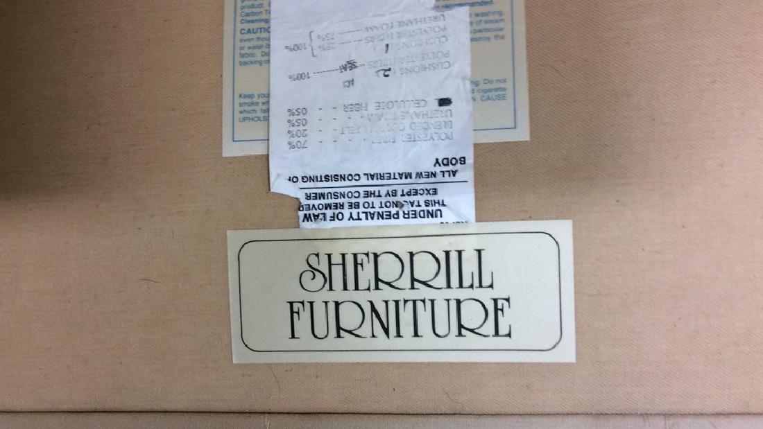 Vintage Upholstered Sherrill Sofa Sofa, couch, loveseat - 6