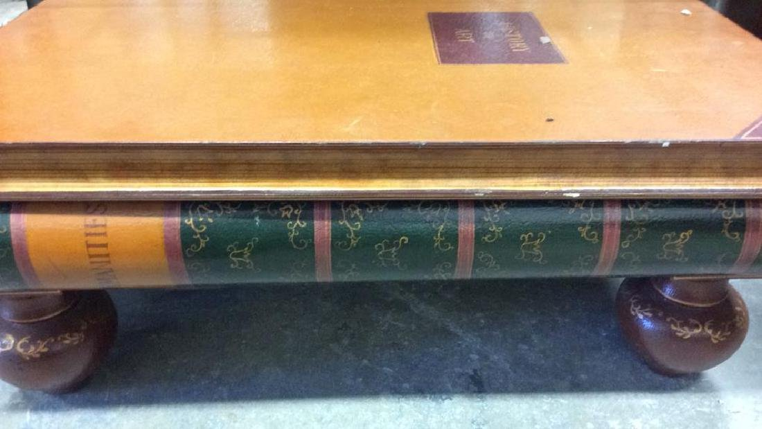 Whimsical Book Form Coffee Table Coffee table, low - 2
