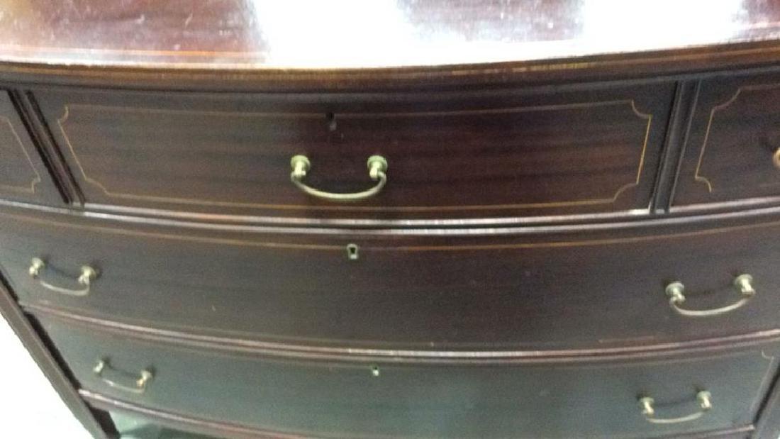 Antique 2 Dresser Mahogany Set, New York City Made Two - 10