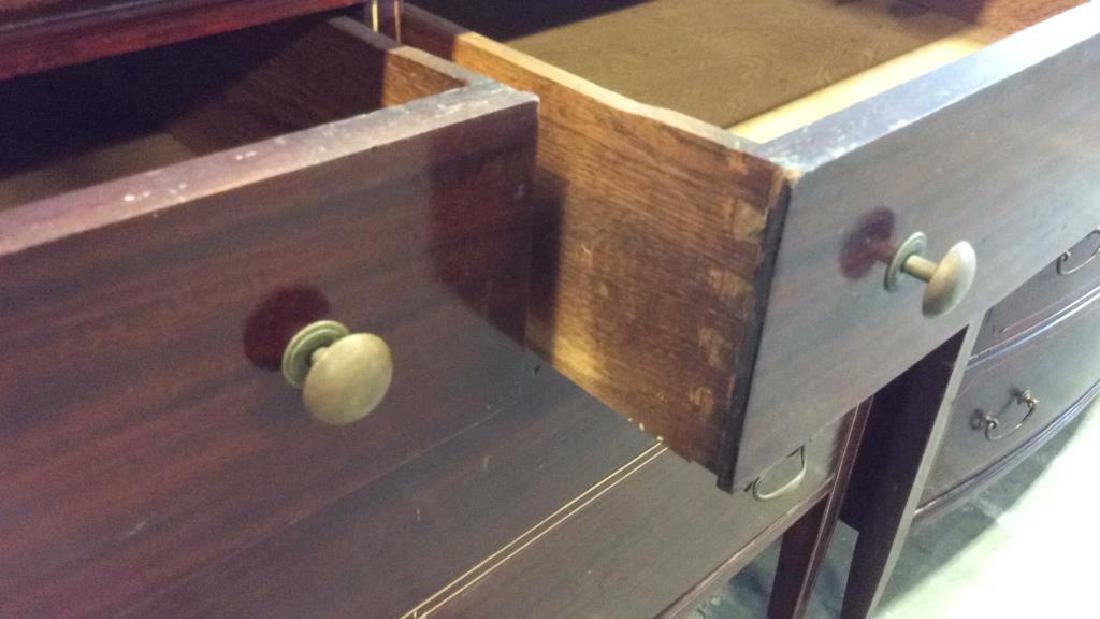 Antique 2 Dresser Mahogany Set, New York City Made Two - 6