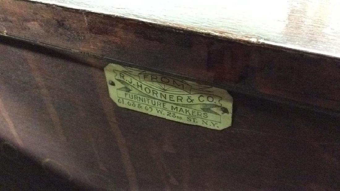Antique 2 Dresser Mahogany Set, New York City Made Two - 8