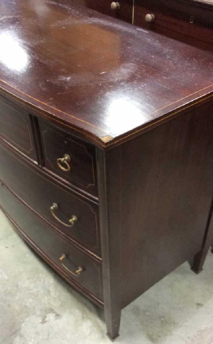 Antique 2 Dresser Mahogany Set, New York City Made Two - 9