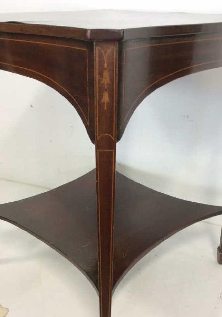 Charak signed hand made End Table inlaid Inlaid - 2