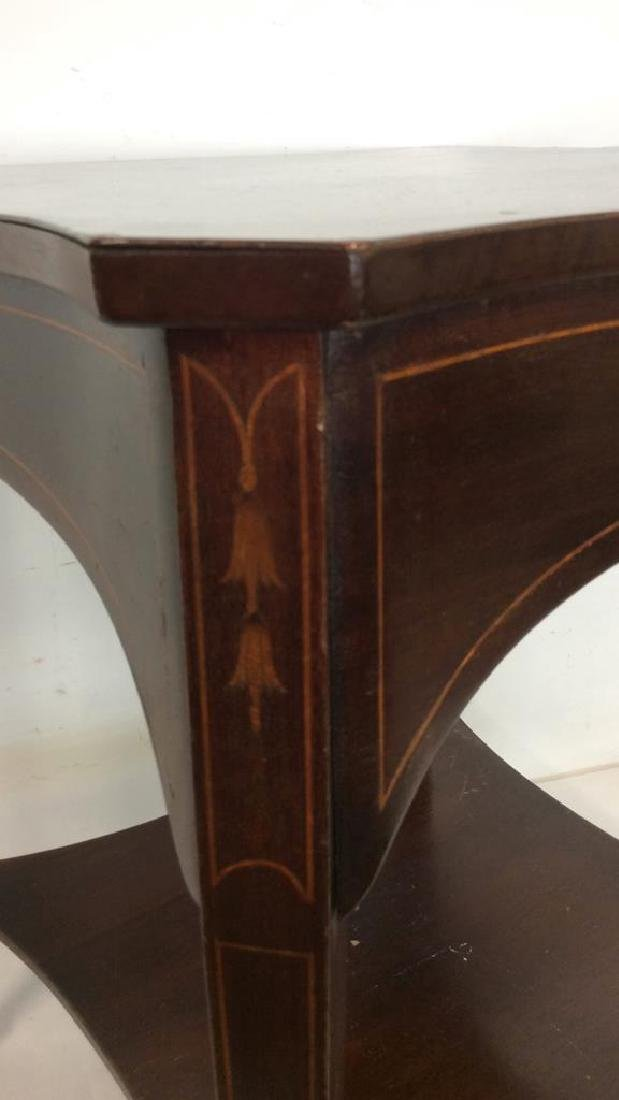 Charak signed hand made End Table inlaid Inlaid - 4